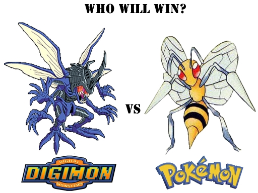 Digimon Vs Pokemon 3