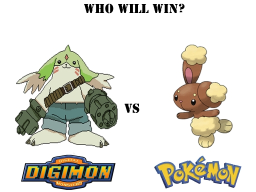 Digimon Vs Pokemon 5