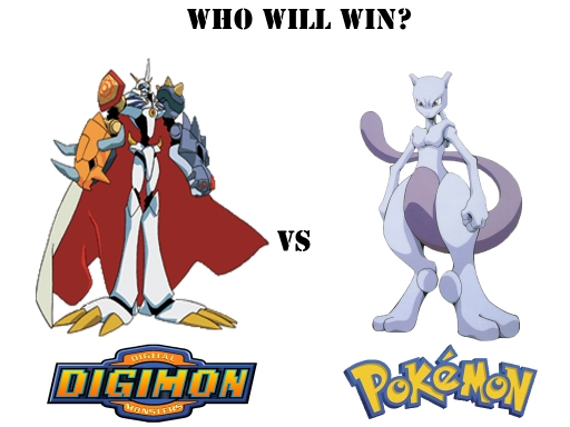 Digimon Vs Pokemon 6