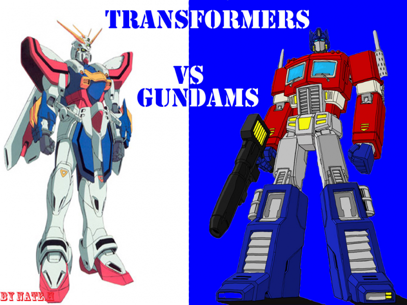 Gundams Vs Transformers