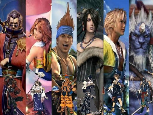 FFX Characters