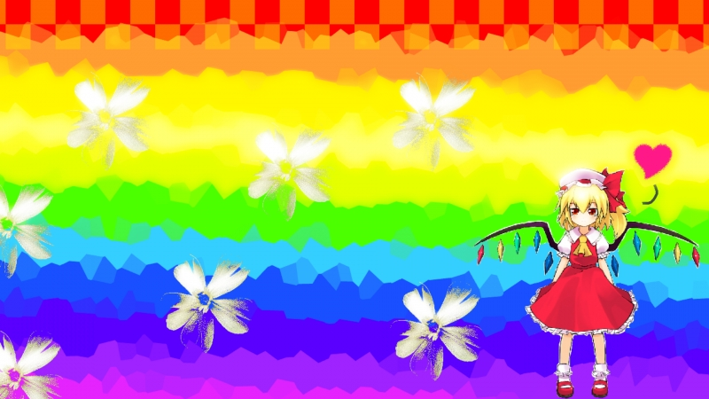 Flandre Rainbow and Flowers