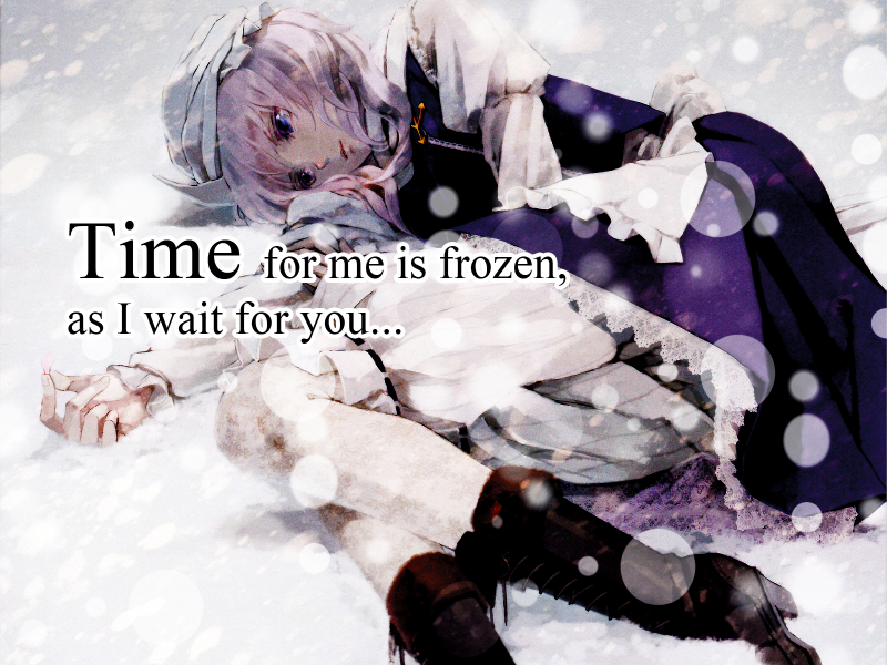Frozen in time..