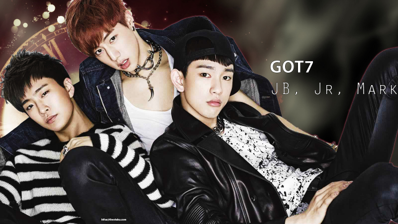 GOT7: JB, Jr, Mark