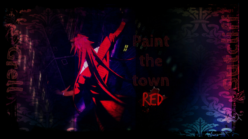 Grell Paint the Town Red