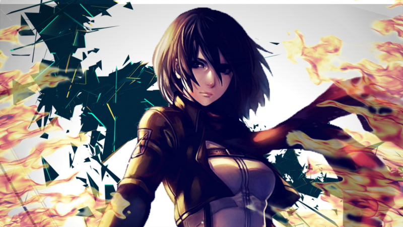 Mikasa The Fierce
