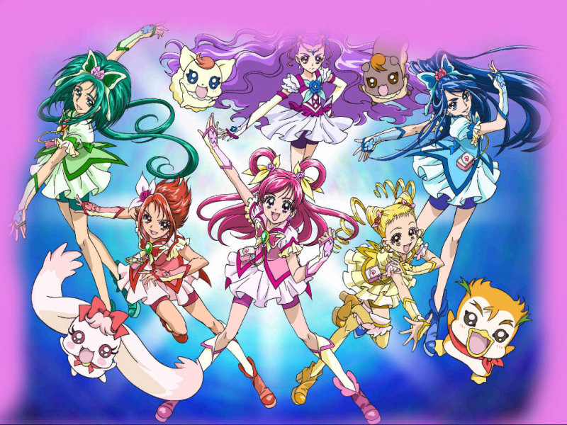 Yes Precure 5 Go Go