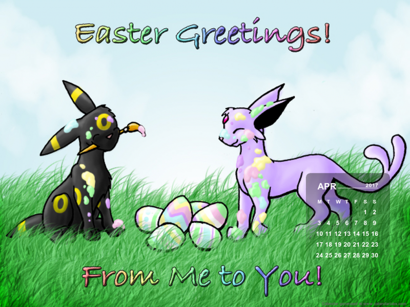 easter greetings from me to yo