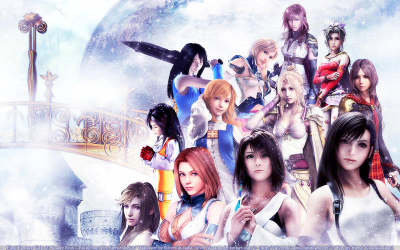 Final Fantasy Girls