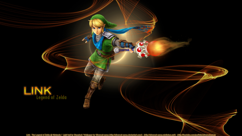 Link's magic rod