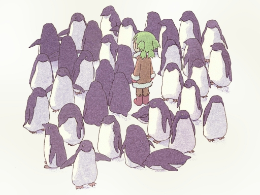 Yotsuba and Penguins